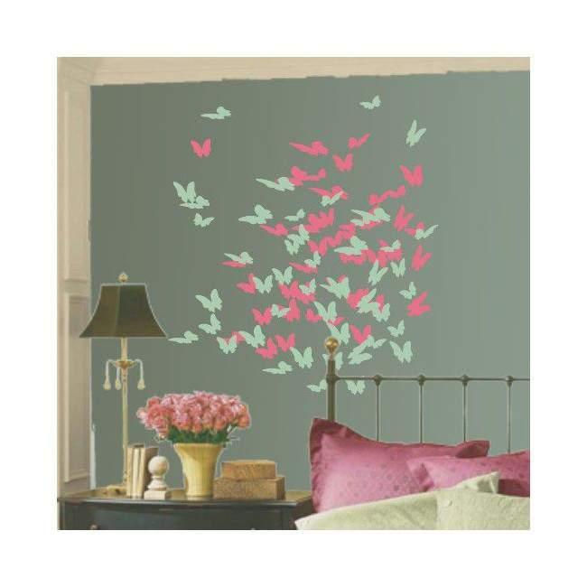 Αυτοκόλλητο τοίχου Πεταλούδες