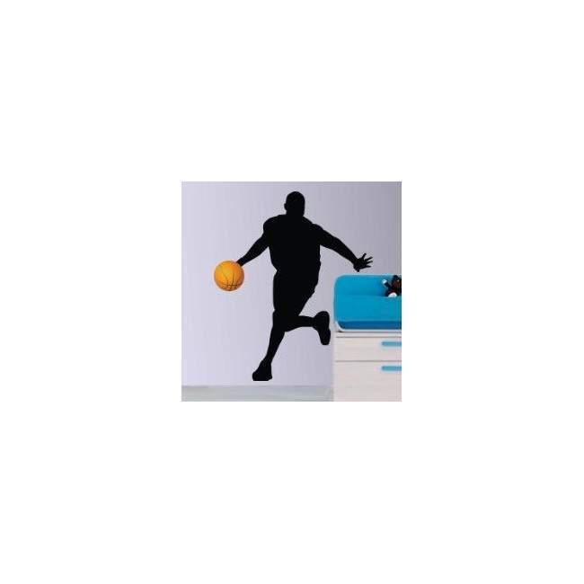 Αυτοκόλλητο τοίχου Μπασκετμπολίστας 1