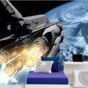 Ταπετσαρία τοίχου Διαστημικό λεωφορείο