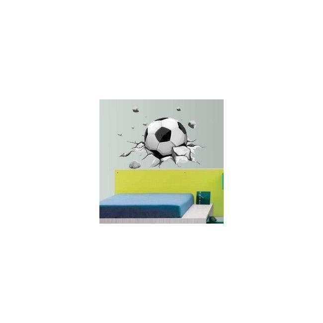 Αυτοκόλλητο τοίχου Δυναμική μπάλα ποδοσφαίρου