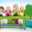 Ταπετσαρία τοίχου Χαμογελαστά παιδιά