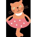 Kids wall stickers Kitty