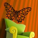 Wall stickers butterflies, Les Papillons