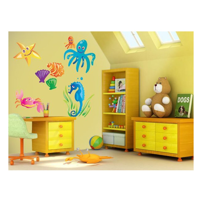 Kids wall stickers Mini Collection, Underwater World