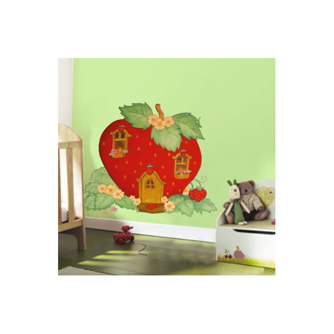 Kids wall stickers Strawberry House
