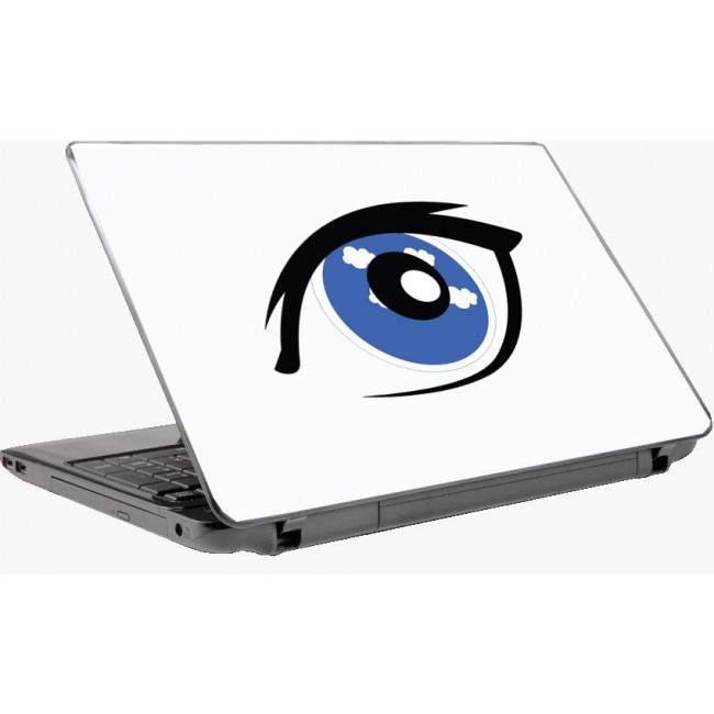 The eye Laptop skin