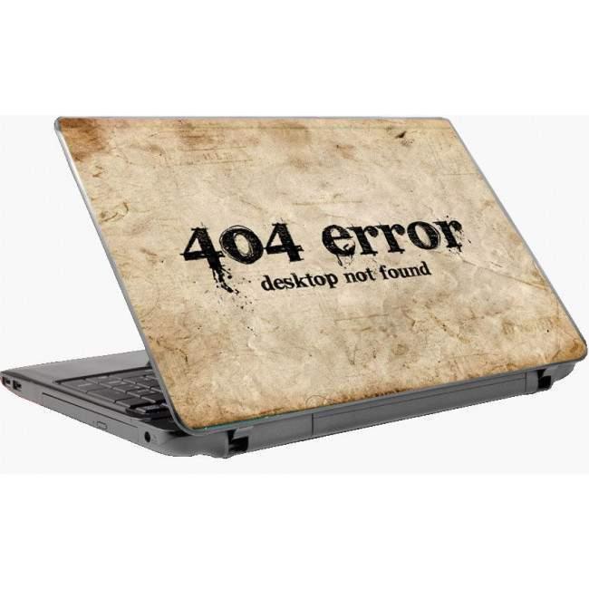 404 error αυτοκόλλητο laptop