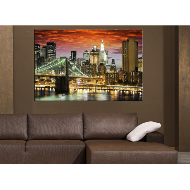 Πίνακας σε καμβά Νέα Υόρκη, New York architecture