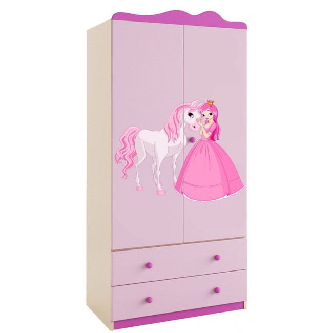 Wall stickers Princess and pony