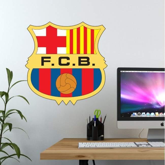Αυτοκόλλητο τοίχου Barcelona FC