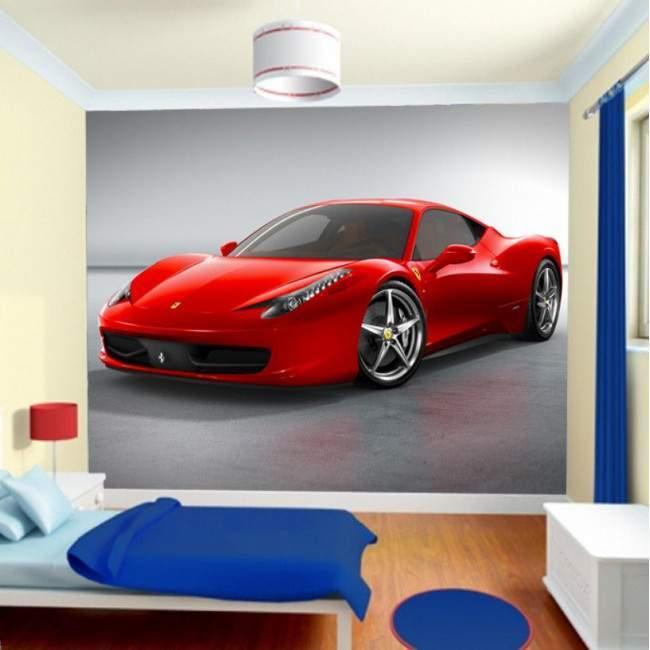 Ταπετσαρία τοίχου Ferrari 458