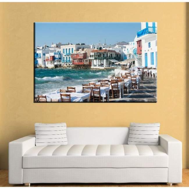 Πίνακας σε καμβά Mykonos little Venice