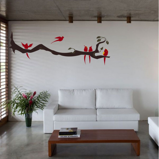 Wall stickers Birds time