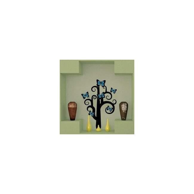 Αυτοκόλλητα τοίχου Δέντρο απο πεταλούδες