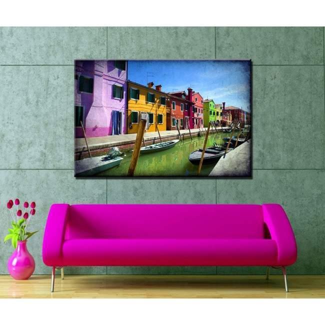 Canvas print Colors of Venice