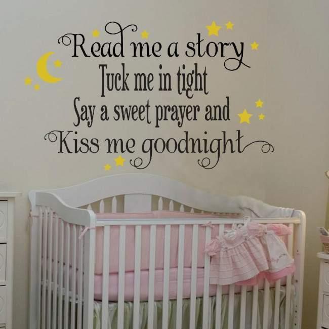 Αυτοκόλλητα τοίχου παιδικά Read me a story