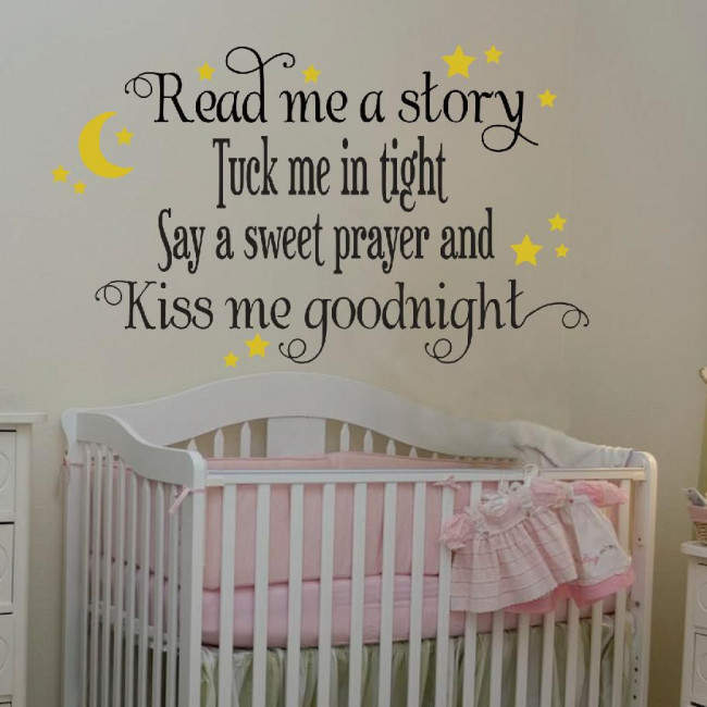Kids wall stickers Read me a story