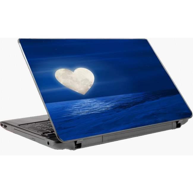 Heart Moon Laptop skin