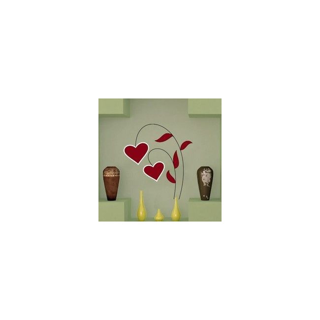 Wall stickers Flower of hearts