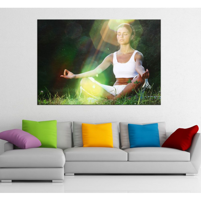 Canvas print Yoga