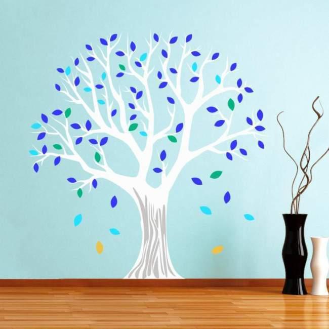 Αυτοκόλλητο τοίχου Δέντρο λάιμ, Lime tree, εναλλακτικά χρώματα