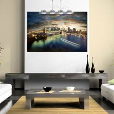 Canvas print Amazing New York cityscape