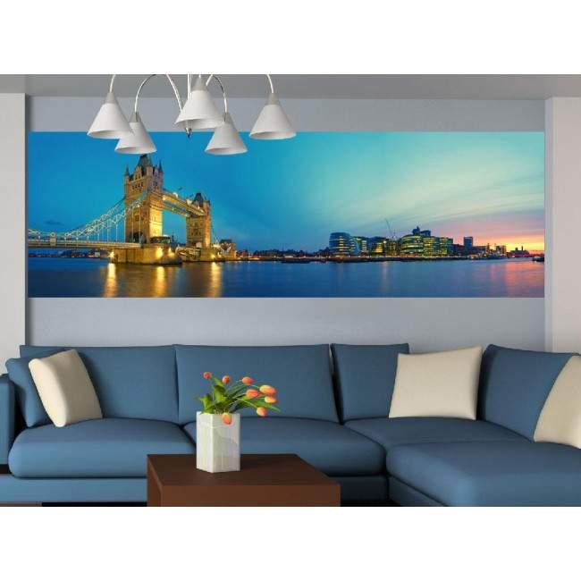 Ταπετσαρία τοίχου London Tower bridge and Southwark