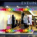Store front sticker Spring border