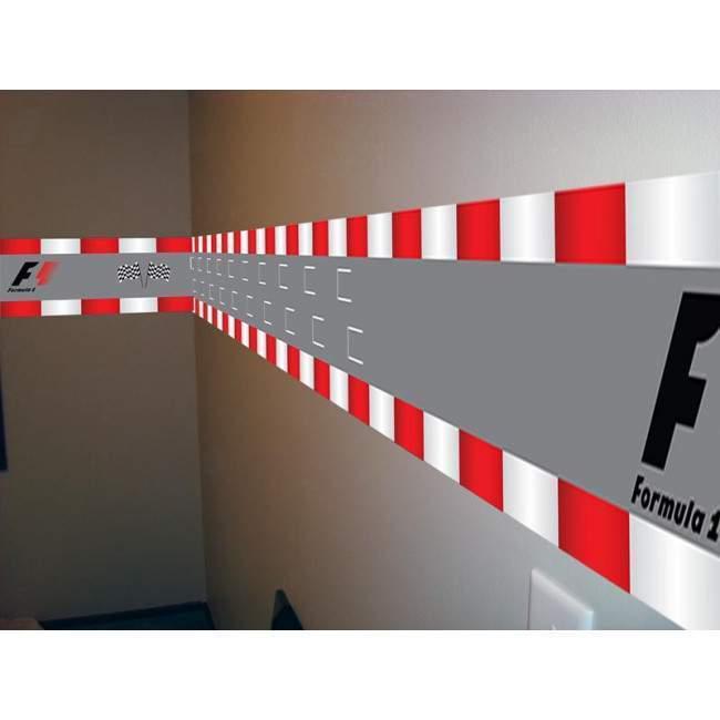Μπορντούρα αυτοκόλλητο τοίχου, Formula 1