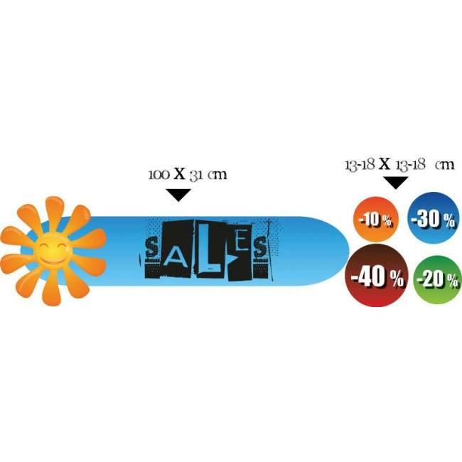 Sales stickers  design 21