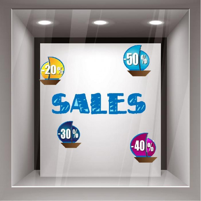 Sales stickers  design 23