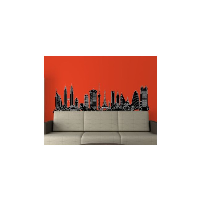 Wall stickers Famous Buildings