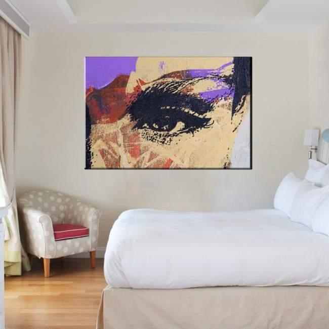 Πίνακας σε καμβά Look at me