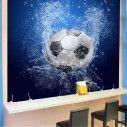 Ταπετσαρία τοίχου Μπάλα ποδοσφαίρου