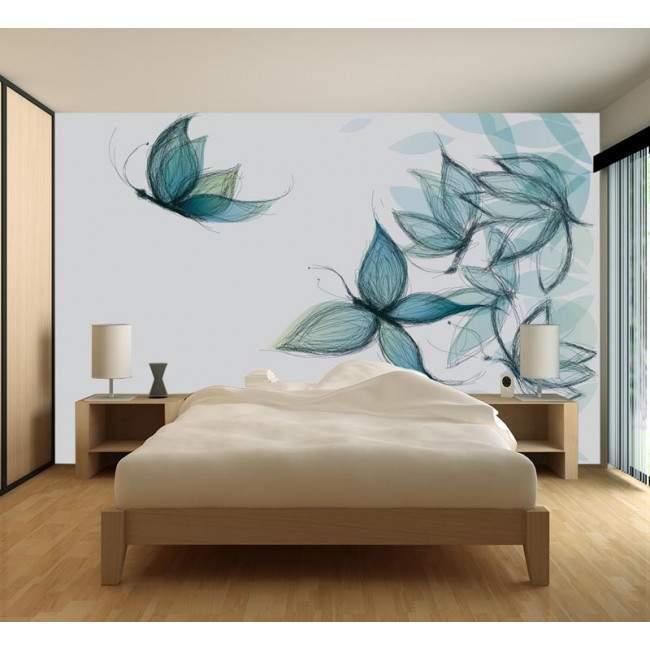 Ταπετσαρία τοίχου Butterflie dreams