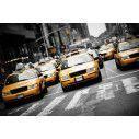 New York cabs, Φωτογραφική ταπετσαρία αυτοκόλλητη