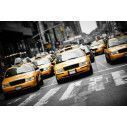 Wallpaper New York cabs