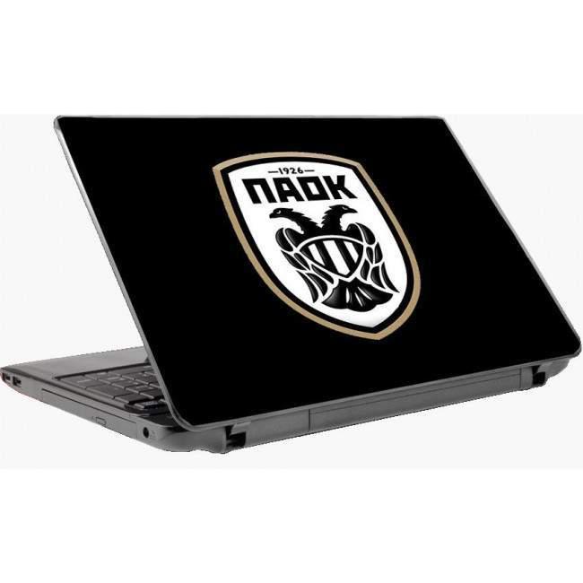 Παοκ (μαύρο background) αυτοκόλλητο laptop