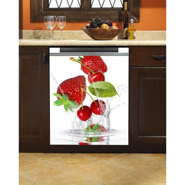 Wall sticker  dish washer Strawberries!