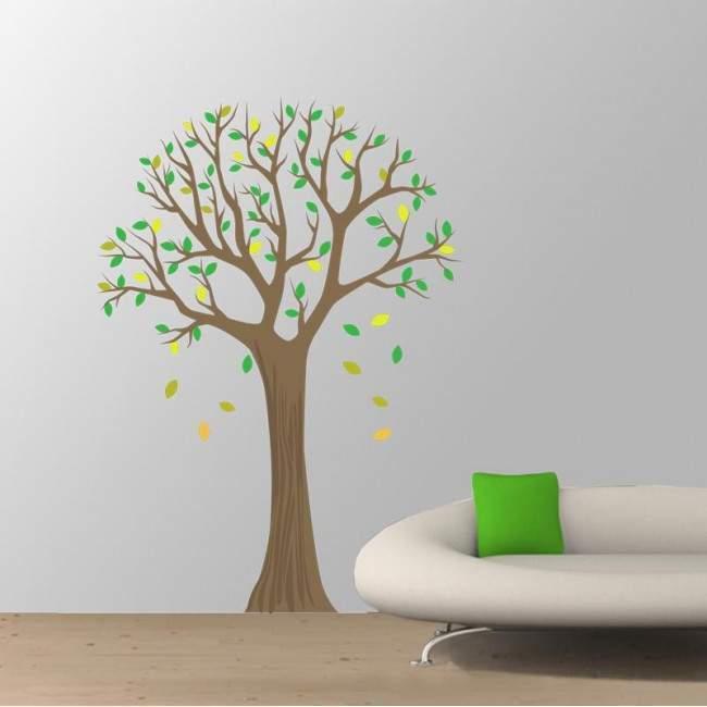 Αυτοκόλλητο τοίχου Δέντρο λαιμ, Lime tree 2