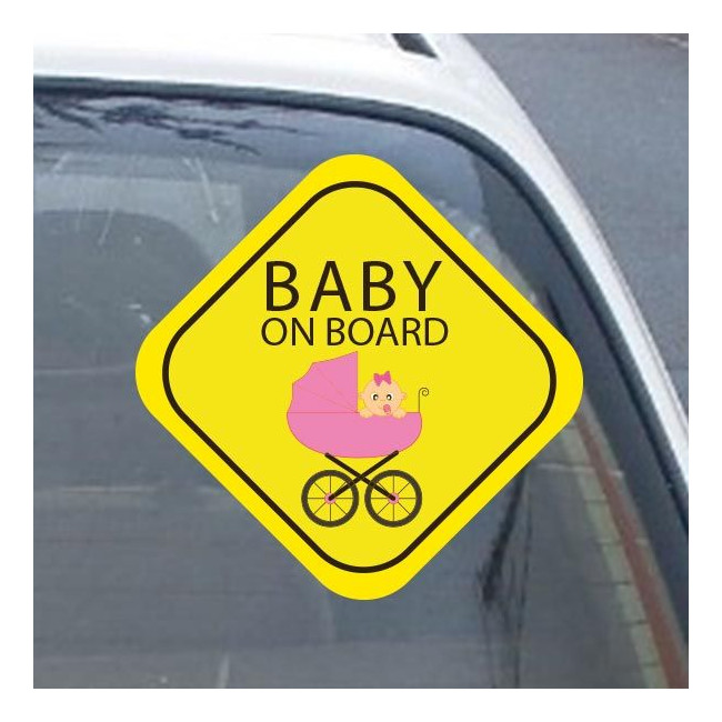 Αυτοκόλλητο αυτοκινήτου παιδικό My  girl on board!