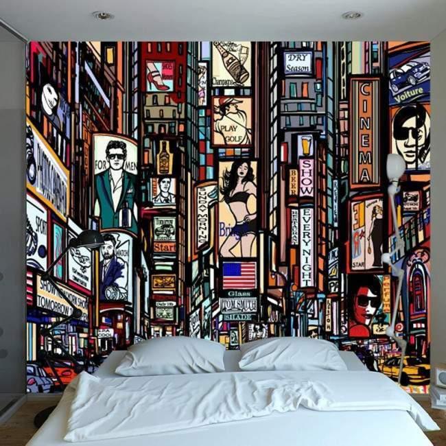 Wallpaper Cityscape vector