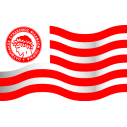 Wall stickers Flag of FC Olympiakos