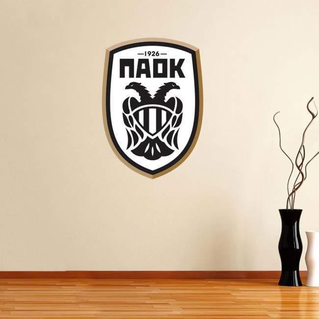 Αυτοκόλλητο τοίχου Παοκ, νέο λογότυπο