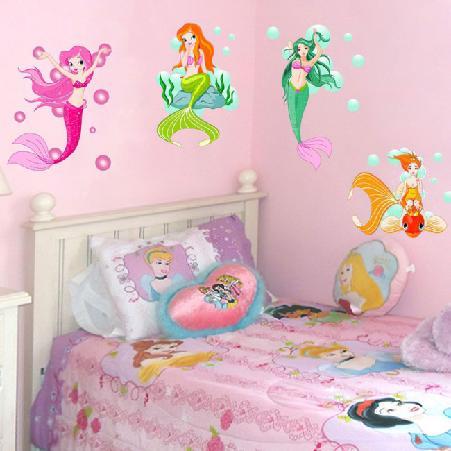 Wall stickers Mermaids!