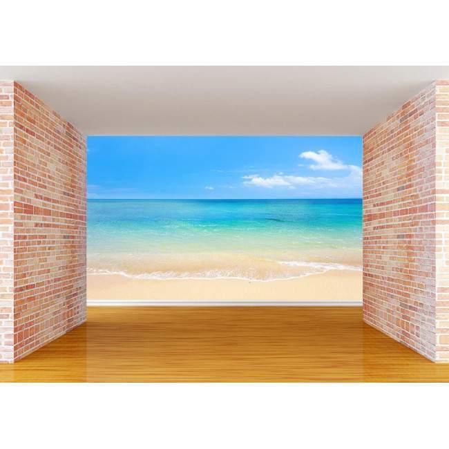 Ταπετσαρία τοίχου Sand - sea - sky