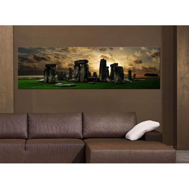 Πίνακας σε καμβά Stonehenge, πανοραμικός