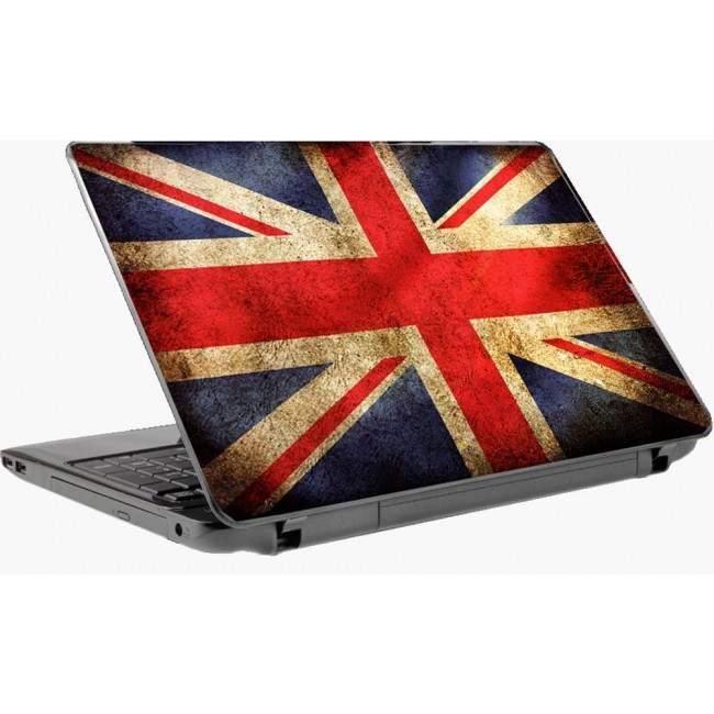 English flag αυτοκόλλητο laptop