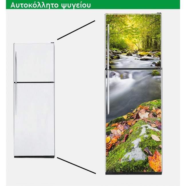 Αυτοκόλλητο ψυγείου Φθινοπωρινό τοπίο, αυτοκόλλητο ψυγείου