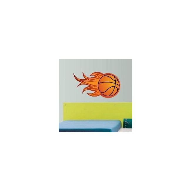 Wall stickers Burning Ball Basketball